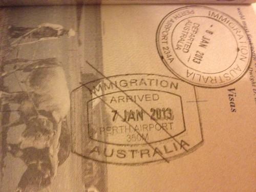 australia denied