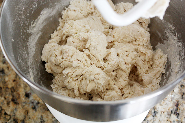 shaggy dough.