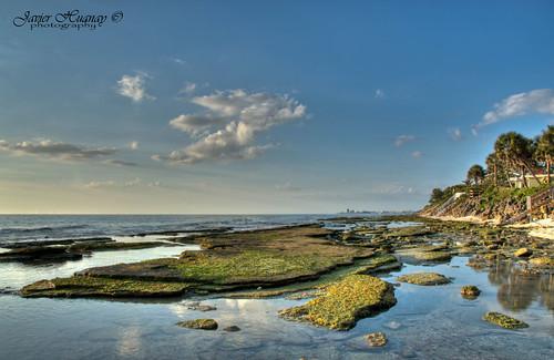 beach nature atardecer agua nikon rocks florida sarasota hdr d7000 bestevergoldenartists