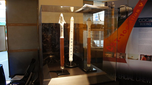 Commercial Crew Spacecraft Models