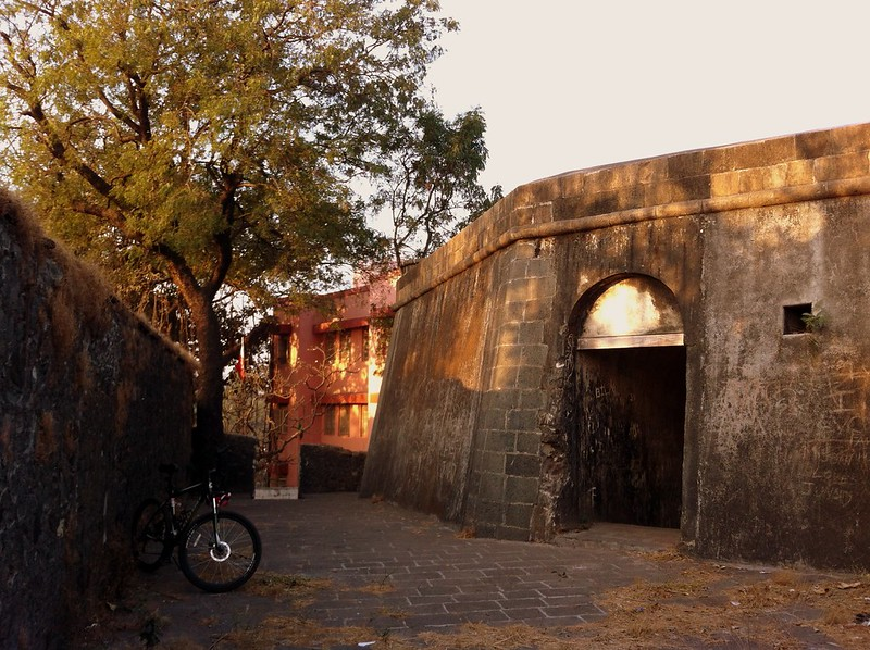 Entrance to Sewri fort