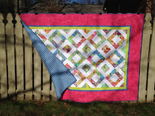 Helen's new quilt, finished