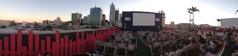Rooftop Cinema Panoramic