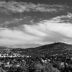 Clouds Over McDonald Observatory