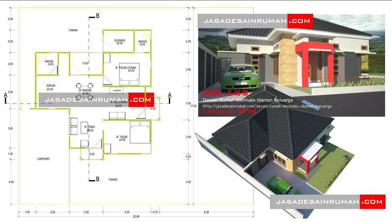 Desain Rumah Minimalis Idaman Keluarga Jasa Desain Rumah