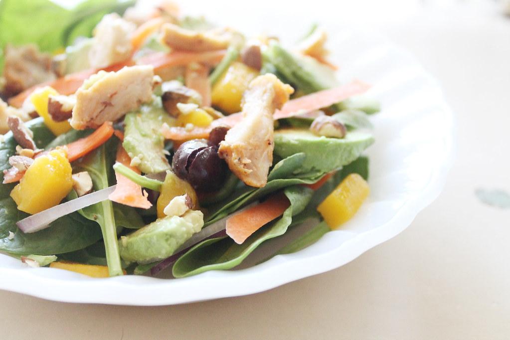 mango chicken salad 2