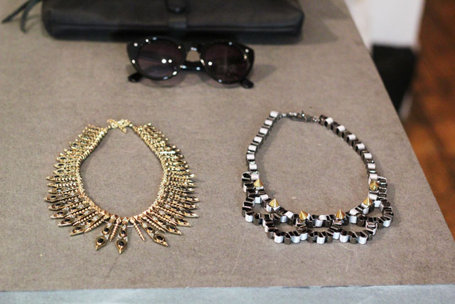 statement necklaces Urban Outfitters SS13 press day