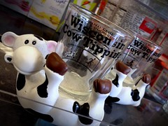 Cow tipping shot glass? Why not!