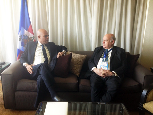 OAS Secretary General Meets with President of Haiti