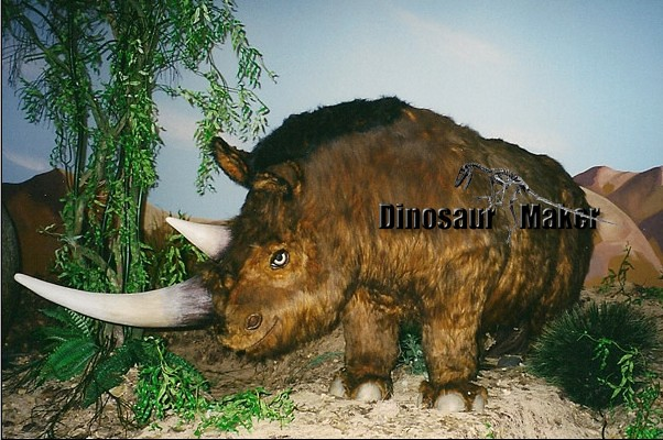 Animatronic Animal Rhinoceros