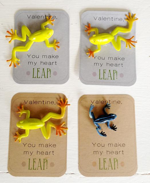frog valentines