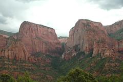 Navajo Sandstone (Lower Jurassic; Nagunt Mesa & Timber Top Mountain, Kolob Canyons, Zion National Park, Utah, USA) 2