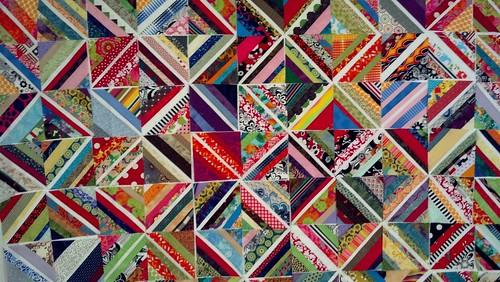 mini scrap fun large quilt
