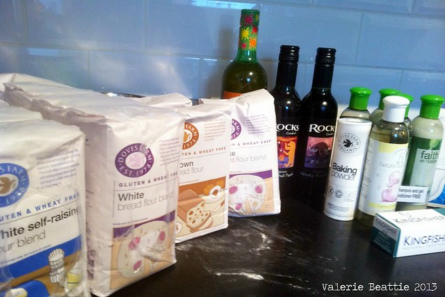 Dove farm self-raising bread flour