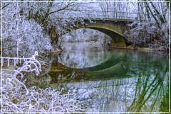 pont sur laTille vers Fouchange en Cote d'OR
