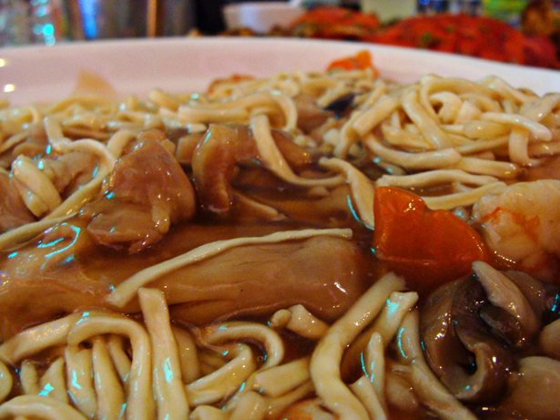 Assorted Meat Noodles from Golden Bay Restaurant