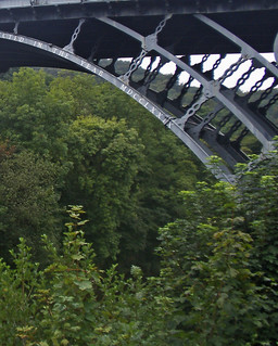 Image of The Iron Bridge. ironbridge shropshire 1779 riversevern gorge mdcclxxix