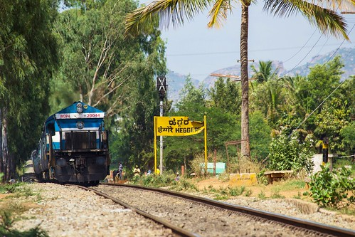 indianrailways ir yeshvantapurnizamuddin yprnzm samparkkranthi ksk 12629 superfast express swr heggere hei kjm krishnarajapuram emd wdp4 20044