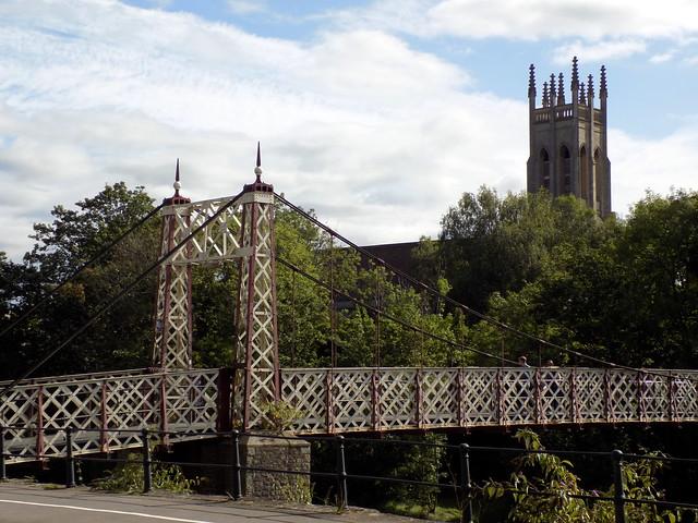 Gaol Ferry Bridge, Bristol and St Paul's Church, Bedminster