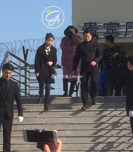 Big Bang - Harbin Airport - 21mar2015 - 小鬼儿Angel - 01