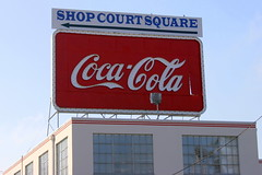 Coca-Cola sign - Covington, TN