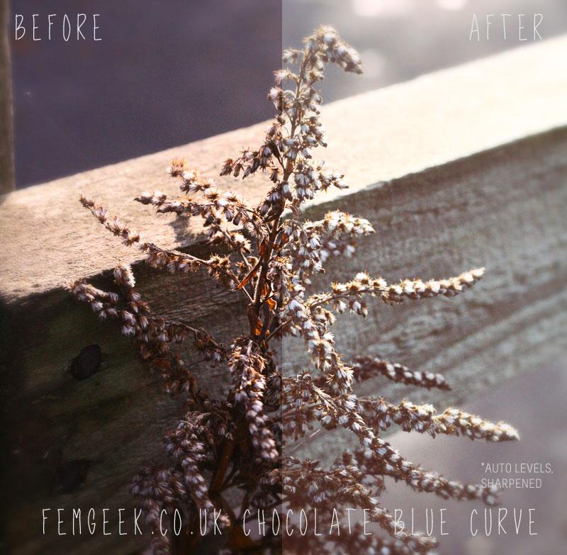 12 Days of Femgeek Christmas – Chocolate Blue Curve
