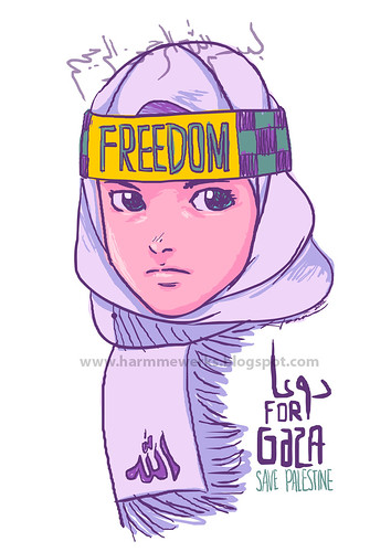 [2012] FREEDOM (Pray For Gaza) by hamifaizal mohsin
