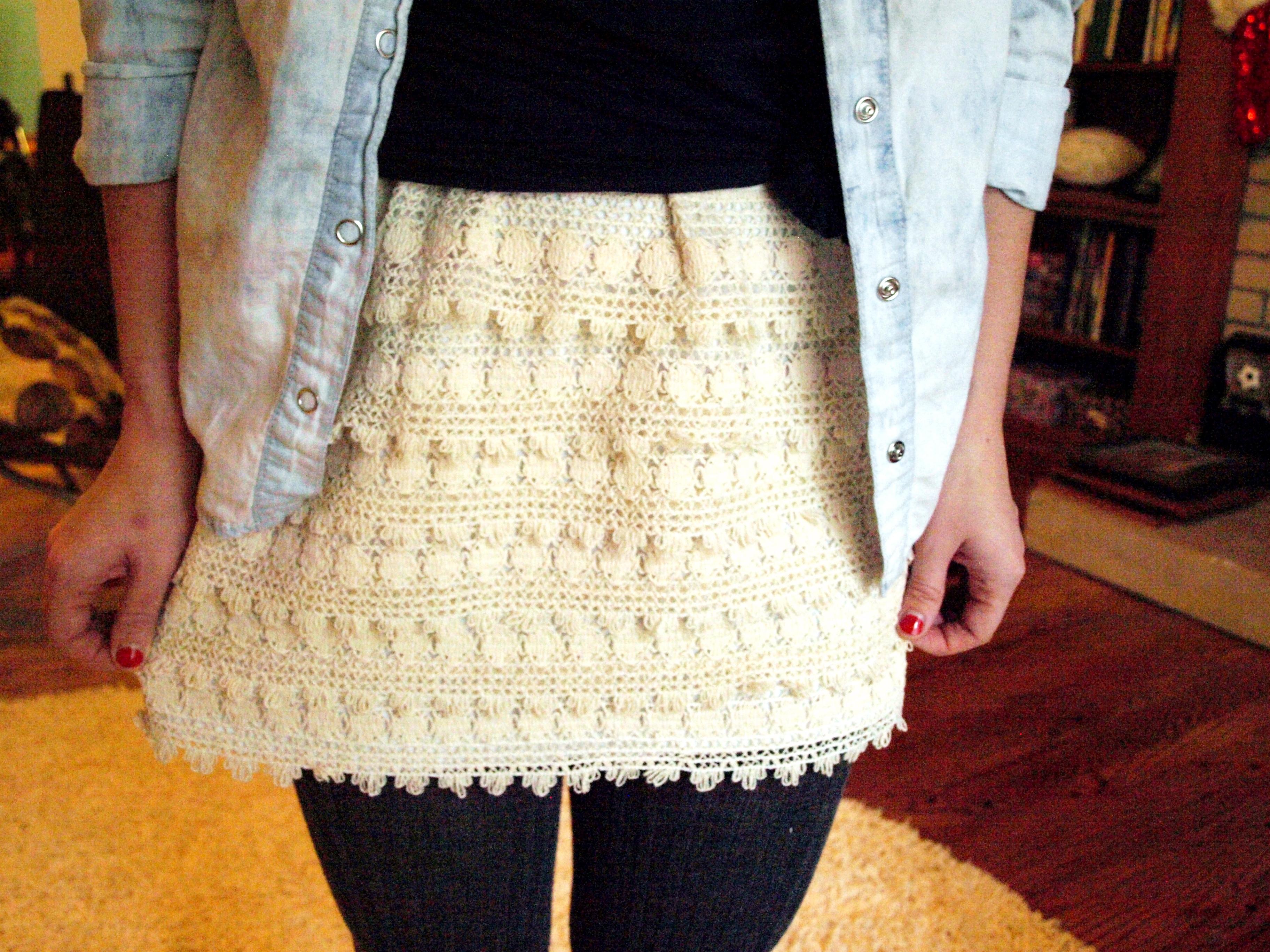 crochet skirt 118