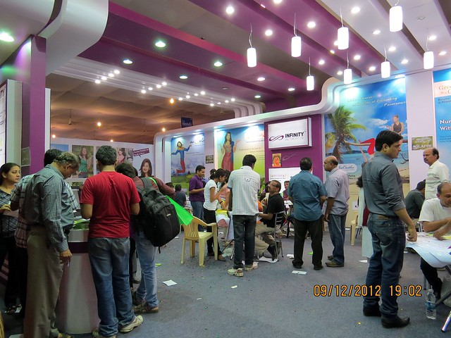Pune Property Exhibition - Sakal Vastu - Property Expo - December 2012 - 4