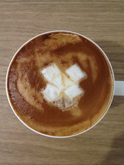 Today's latte, Dropbox.