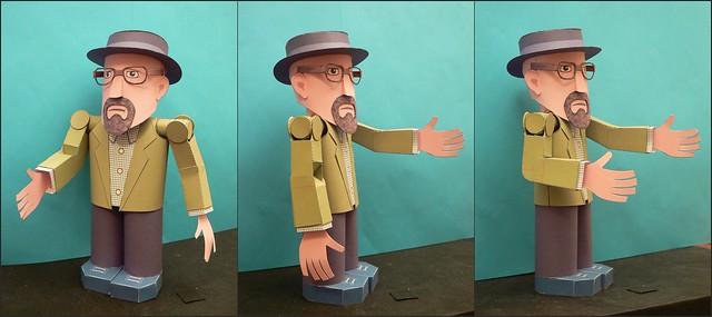 Heisenberg Arm mit Ellenbogen