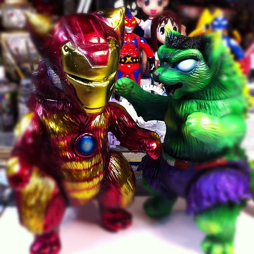 Iron Cat + Hulk