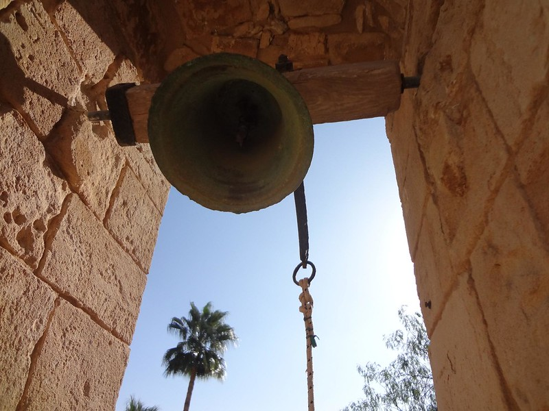 Photo of bell in Monastery of Ayia Napa, Cyprus
