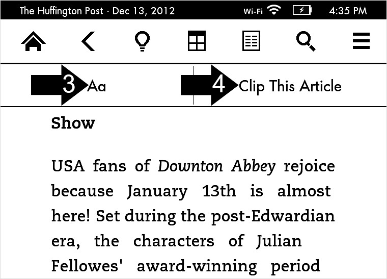 How to read newspapers, magazines and blogs on your Kindle Paperwhite
