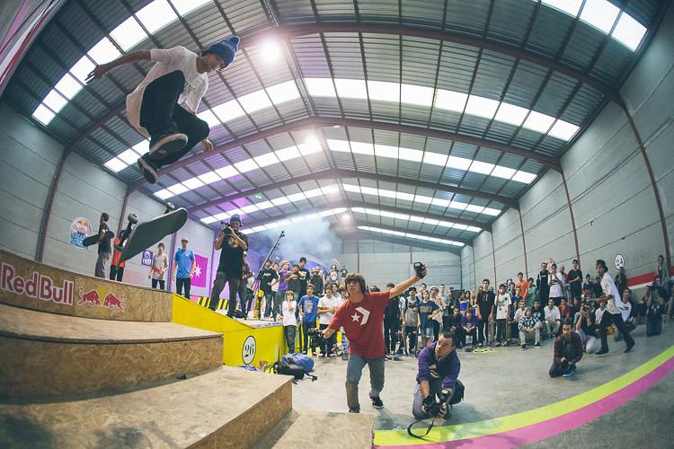 Sergio Muñoz, 360 flip
