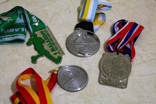 Running Medal 2012
