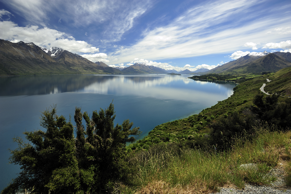 En route to Glenorchy from Queenstown