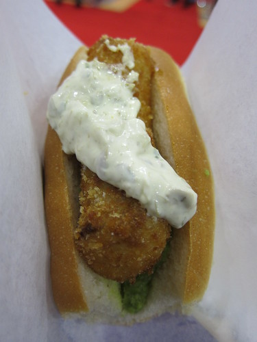 Taste of Christmas - Hix's fishdog