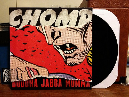Chomp - Buddha Jabba Mumma LP by Tim PopKid