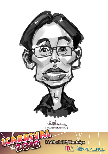 digital live caricature for iCarnival 2012  (IDA) - Day 2 - 63