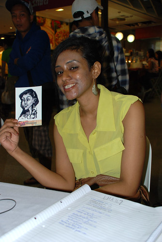 digital live caricature sketching for iCarnival (photos) - Day 2 - 54