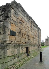Photo of Town Wall, Newcastle bronze plaque