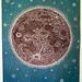 "A first proof of ""THE MOON"" woodcut! by Tugboat Printshop"