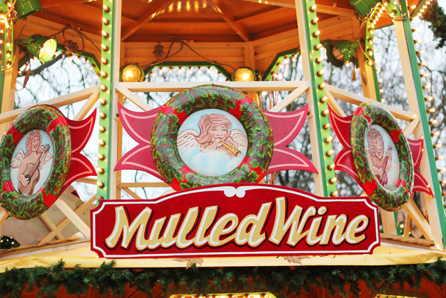 Mulled Wine Winter Wonderland Hyde Park London