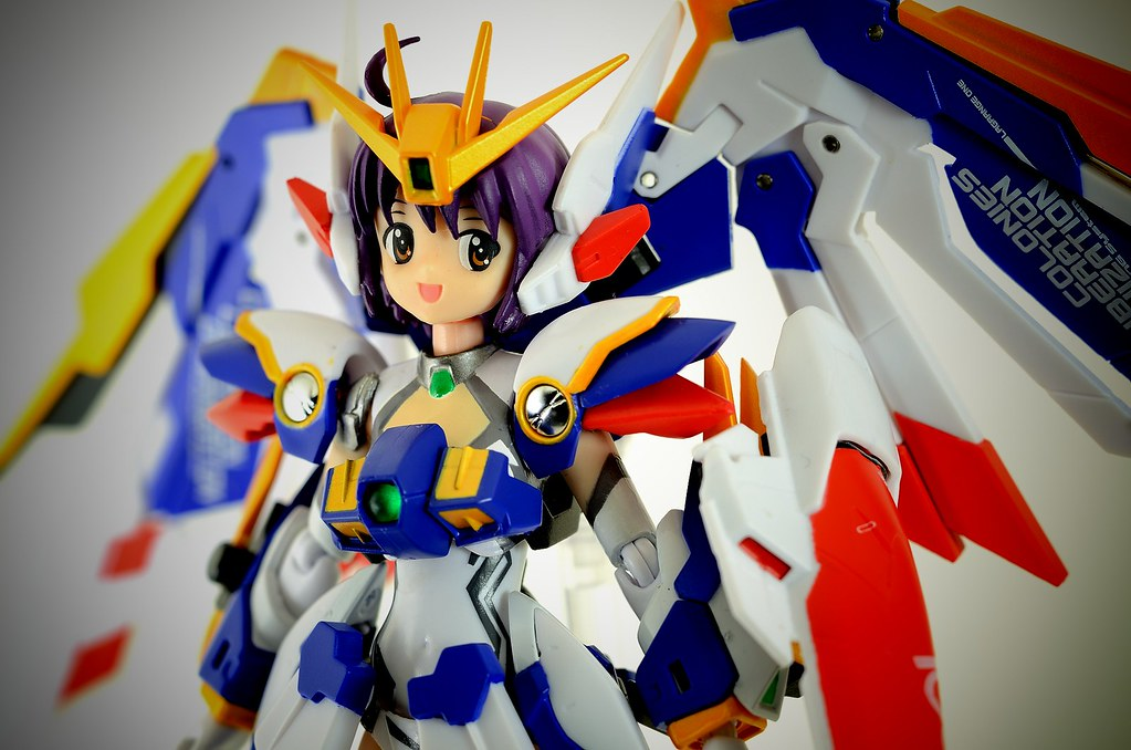 MS Girl Wing Gundam