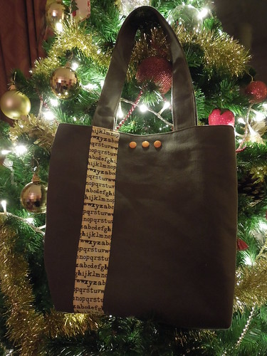 Another Christmas pressie tote bag