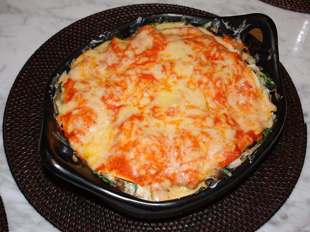 Red Pepper Enchilada Casserole