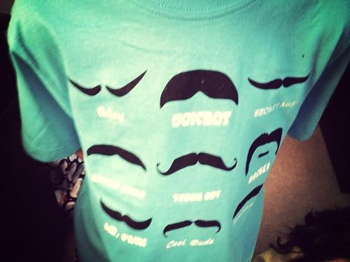 Hayden's Christmas shirt.