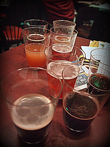 Christmas beer tasting 2012
