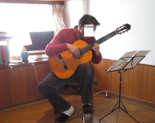 Poranの演奏@小原ギタースタジオ弾き納め会 2012年12月23日 by Poran111